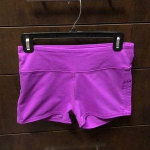 Fabletics shorts magenta size small